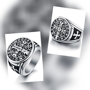 New Mens Stainless Steel Ring